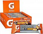 12-Count Gatorade Whey Protein Recover Chocolate Caramel, 2.8-oz Bars $10.55