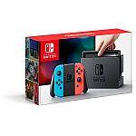 Nintendo Switch with Gray Joy-Con  Starter Bundle $299.99