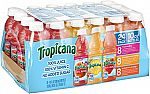 24-Pack Tropicana 100% Juice 3-Flavor Fruit Blend Variety Pack, 10 Fl Oz $10.35