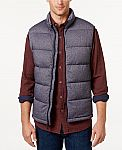 32 Degrees Men's Quilted Stretch Down Vest $20