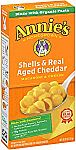 12-Pack 6-oz Annie's Macaroni and Cheese (Bunny Pasta with Yummy Cheese) $6.29 (Prime Member)