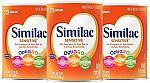 3-Pk 35-oz Similac Sensitive Infant Formula $51.63