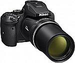 Nikon COOLPIX P900 16MP CMOS 83x Long Zoom Wi-Fi NFC GPS Camera $499