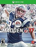 Madden NFL 17 Standard Edition (Physical Download Card) $9.99