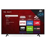 "TCL 65"" 65S401 4K HDR Roku Smart LED TV $698"