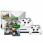 Xbox One S Battlefield 1 Bundle (500GB) + Xbox Wireless Controller + For Honor $250