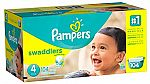 $2 Off + Extra 5% Off Pampers Diapers: 144Ct Baby-Dry Size 3 $20.55