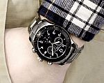Tissot Men's T0394172605700 Analog Display Swiss Quartz Watch $180