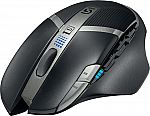 Logitech G602 Wireless Optical 11-Button Scrolling Gaming Mouse $30