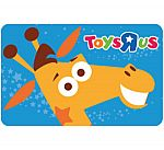 $50 Toys Rus Gift Card $40 and more
