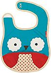 Skip Hop Zoo Little Kid and Toddler Tuck-Away Water Resistant Baby Bib $4 (50% Off)