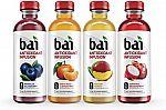 12-pk Bai Rainforest Variety Pack, Antioxidant Infused Beverages, 18 Fl. Oz. Bottles $10.49