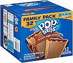 32-Count Kellogg's Pop-Tarts Toaster Pastries Brown Sugar Cinnamon) $4