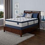 Serta Perfect Sleeper Castleview Euro Pillowtop Queen Mattress Set $498, and more
