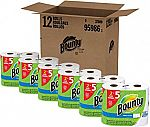12-count Bounty Huge Roll Select-a-Size Paper Towels $22