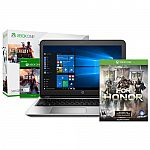 """HP Probook 455 G4 15.6"""" FHD Laptop + Xbox One S Battlefield 500GB+For Honor Day1 $600"""