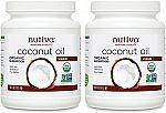 Nutiva Organic Coconut Oil, Virgin, 54 Oz (Pack of 2) $27