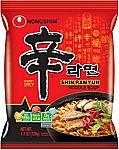 20-Pack of 4.2-oz Nongshim Shin Ramyun Noodle Soup $16.23