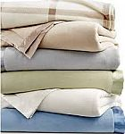 Martha Stewart Collection Soft Fleece Blankets, any size $15