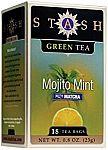 108-Count Stash Tea Mojito Mint Green Tea Tea Bags in Foil $3.53
