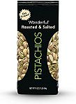 Wonderful Pistachios, Roasted and Salted, 16-oz Bag $5.69