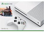 Xbox One S 500 GB Console Battlefield 1 Bundle $200