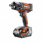 RIDGID 18-Volt 1/2 in. Impact Wrench Kit $149