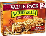 12-Ct of Nature Valley Cashew Sweet & Salty Nut Granola Bars $2.73