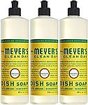 3-Pack of 16oz Mrs. Meyers Liquid Dish Soap from $6.41