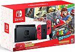 Nintendo Switch Super Mario Odyssey Edition - Red Joy Con $380 (Pre-order)
