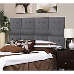 Kiera Grace Luxe Set of 8 Upholstered Headboard Wall Panels with Tufted Buttons $50 or $42.50
