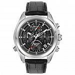 Bulova Precisionist Men's Quartz Chronograph Leather Strap 44.5mm Watch $145
