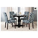 Threshold Round Pedestal Dining Table (3 colors) $105 (70% Off)