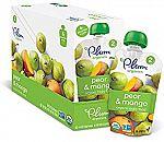 12-Pk Plum Organics Baby Apple and Broccoli Pouch $7.87
