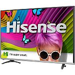 "Refurbished Hisense 50"" Class 4K (2160P) Smart LED TV $280"