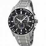 Citizen Eco-Drive Men's Titanium Perpetual Chrono A-T Watch $325