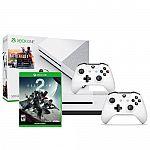 Xbox One S Battlefield 1 Bundle (500GB) + Destiny 2 + Xbox Wireless Controller $240