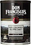12-oz Don Francisco's 100% Colombia Supremo, Ground $3.07