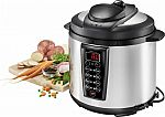 Insignia Multi-function 6-Quart Pressure Cooker $40