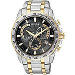 Citizen Men's AT4004-52E Men's Stainless Steel Eco Drive Watch $250 (Was $382)