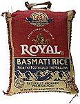 15-Pound Royal Basmati Rice $12.74 (Prime Only)