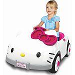 Dynacraft Hello Kitty 6V Battery Powered Ride On Car $79