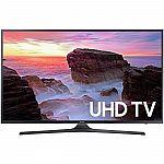 "Samsung UN50MU6300 50"" Smart LED HDTV with 4K Resolution (2017 Model) $479"