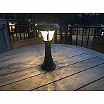 Solar 13 Inch 70 Lumen Metal/Glass tabletop Light $19 (40% Off)
