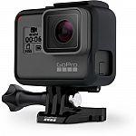 GoPro HERO6 Black (4k60, 12MP Photo at 30 fps, waterproof) $499