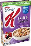 12oz Special K Fruit and Yogurt Cereal $1.36