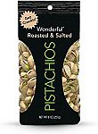 5-Pack of 8oz Wonderful Pistachios (Roasted and Salted) $11.65