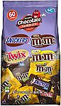 33.9oz 60-pc MARS Chocolate Favorites Fun Size Candy Bars $6.02