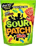 1.9 lb Sour Patch Kids Sweet and Sour Gummy Candy $4