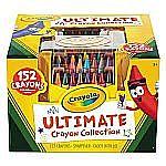 Crayola Ultimate Crayon Case, Sharpener Caddy, 152 Colors $12.82